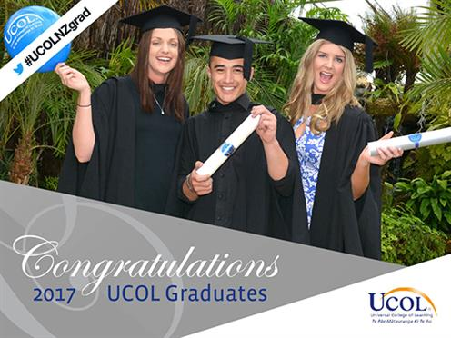 Join us in congratulating all 2017 UCOL graduates